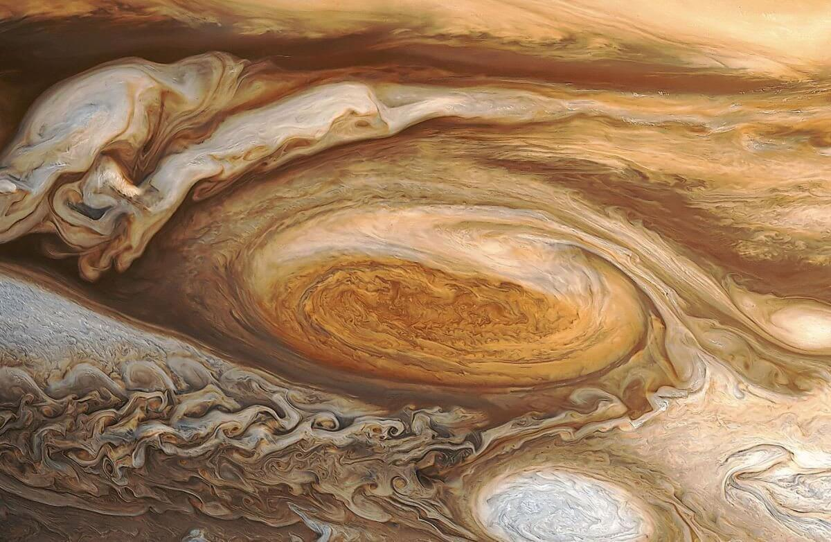 Bonito na foto: Hubble capta incríveis imagens da Grande Mancha Vermelha de Júpiter