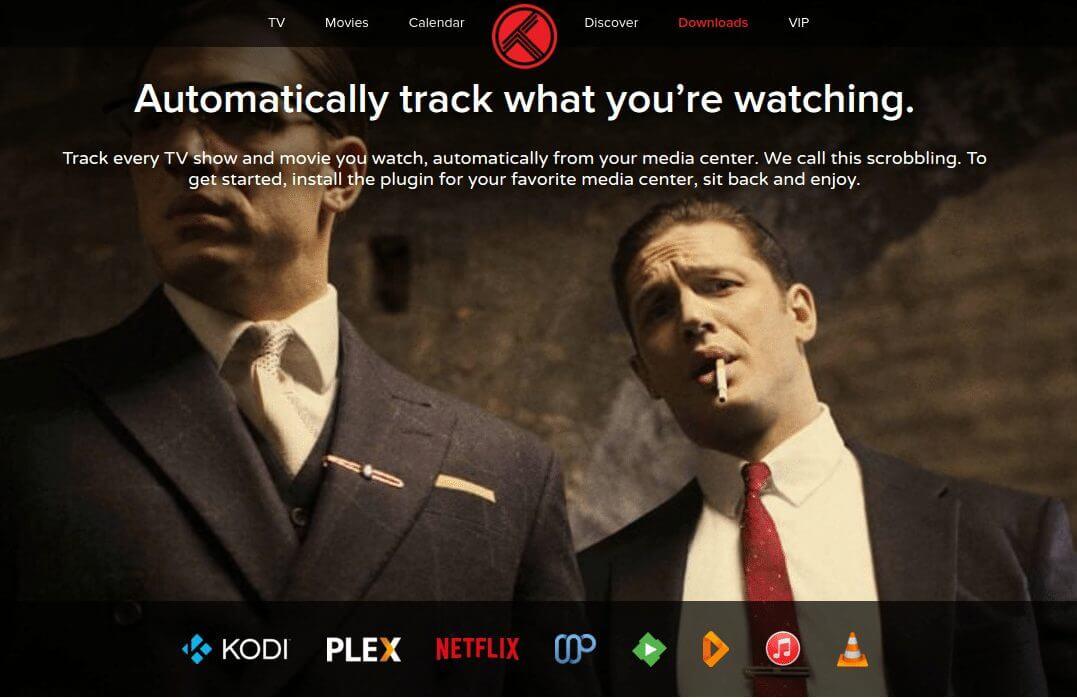 Deixe o Trakt.tv marcar o que você assiste automaticamente.