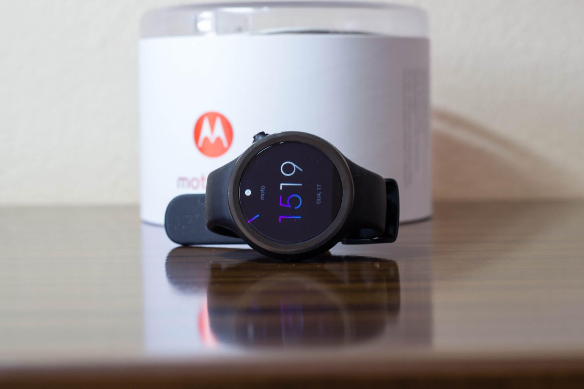 moto 360 sport 1 - Review: Moto 360 Sport, um smartwatch independente do seu celular