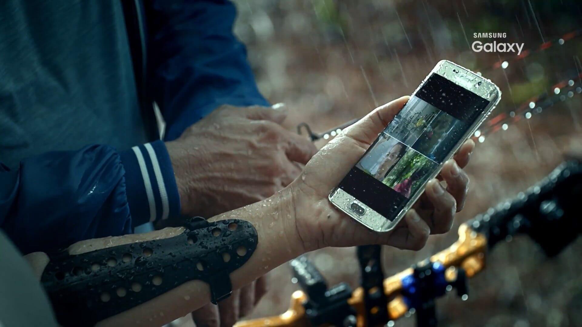 Pode chover! Vídeo indica que Galaxy S7 será à prova d'água