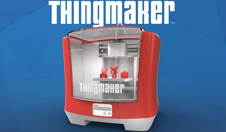 Mattel quer tornar impressoras 3D em diversão pra família