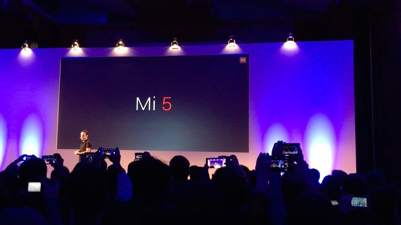 Xiaomi lança o Mi 5 na MWC 2016