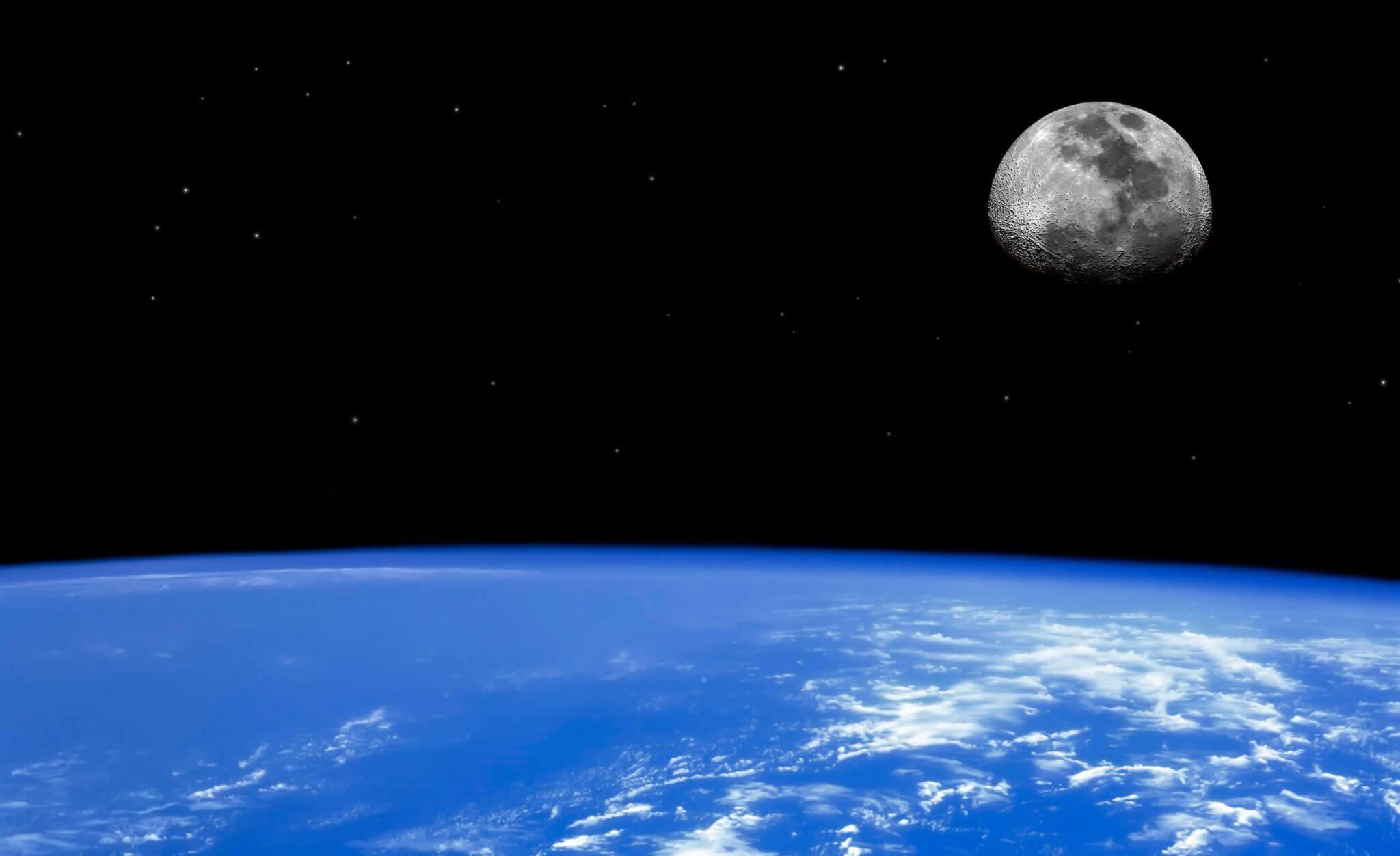 Terra e Lua podem ter se originado da colisão com o planeta Theia