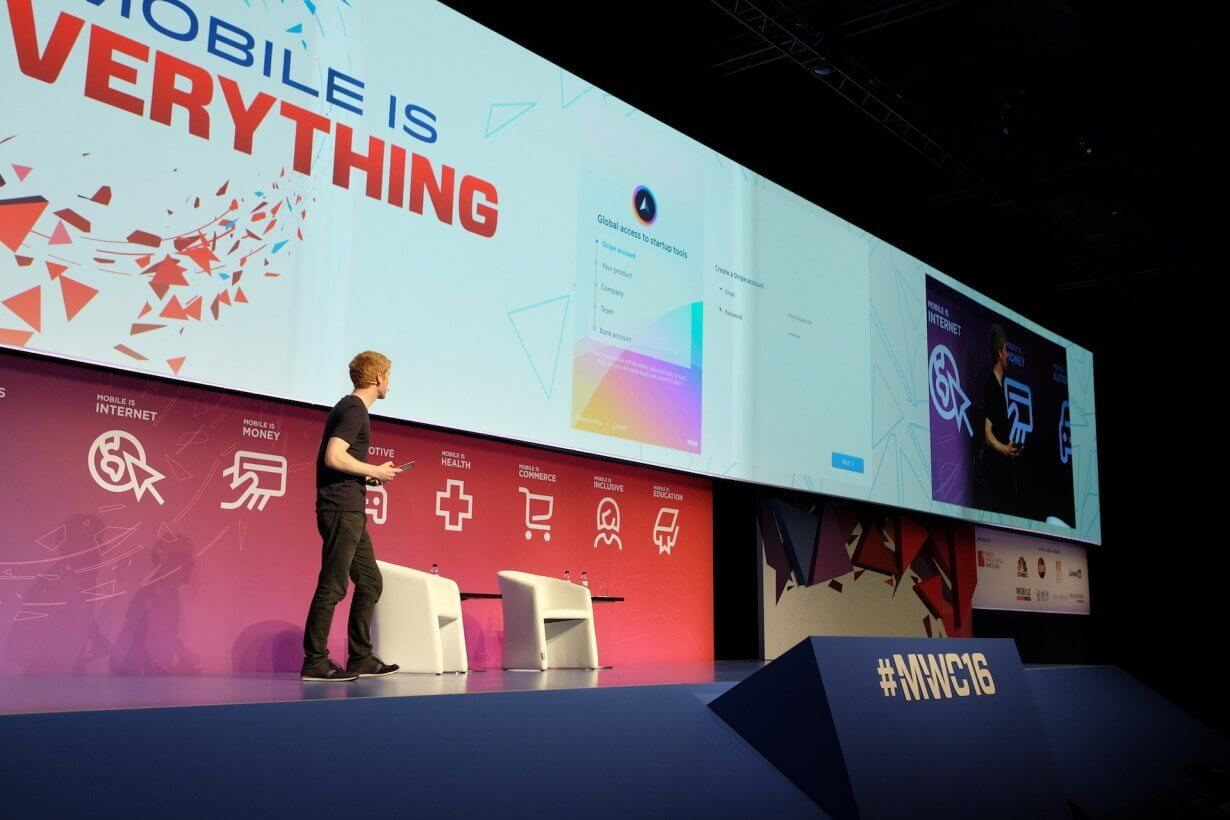 Stripe atlas mobile world congress