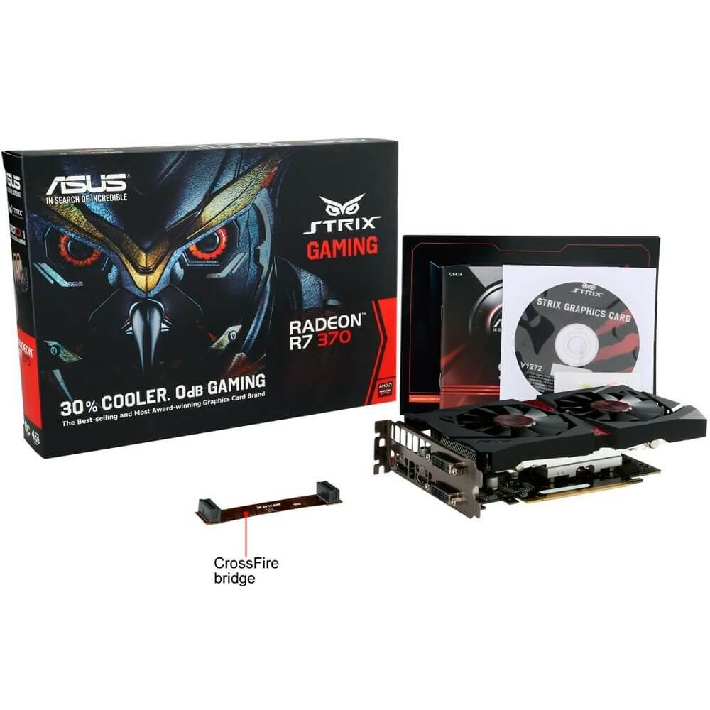 asus radeon r7 370 strix 4 gb