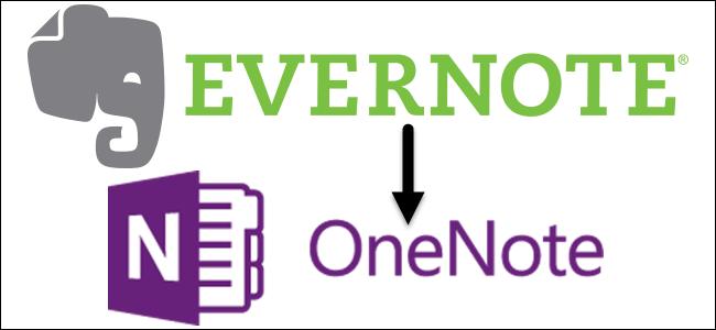 OneNote-Evernote