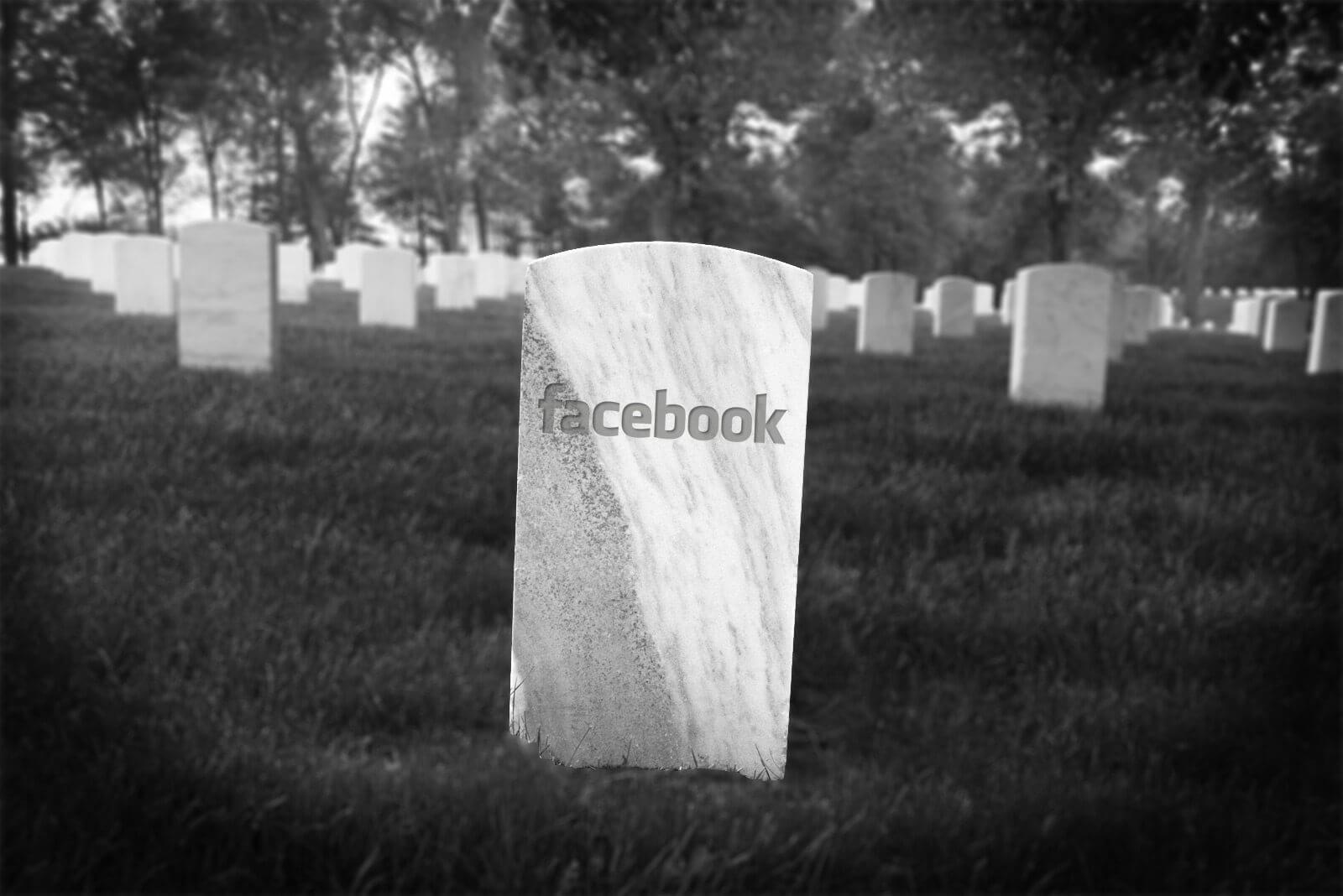 facebook dead - Em 2098, o Facebook pode ter mais mortos do que vivos