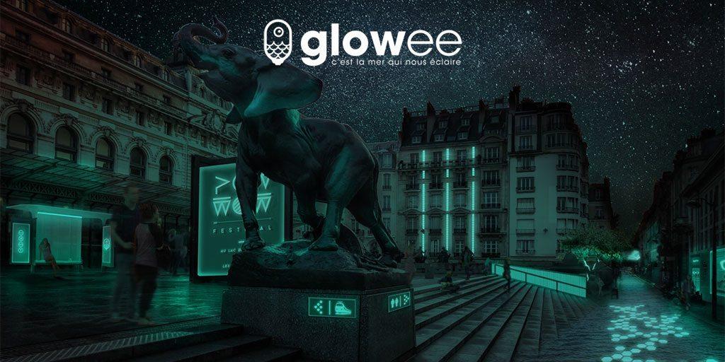 Startup francesa ilumina ruas e fachadas sem gastar energia elétrica usando bactérias