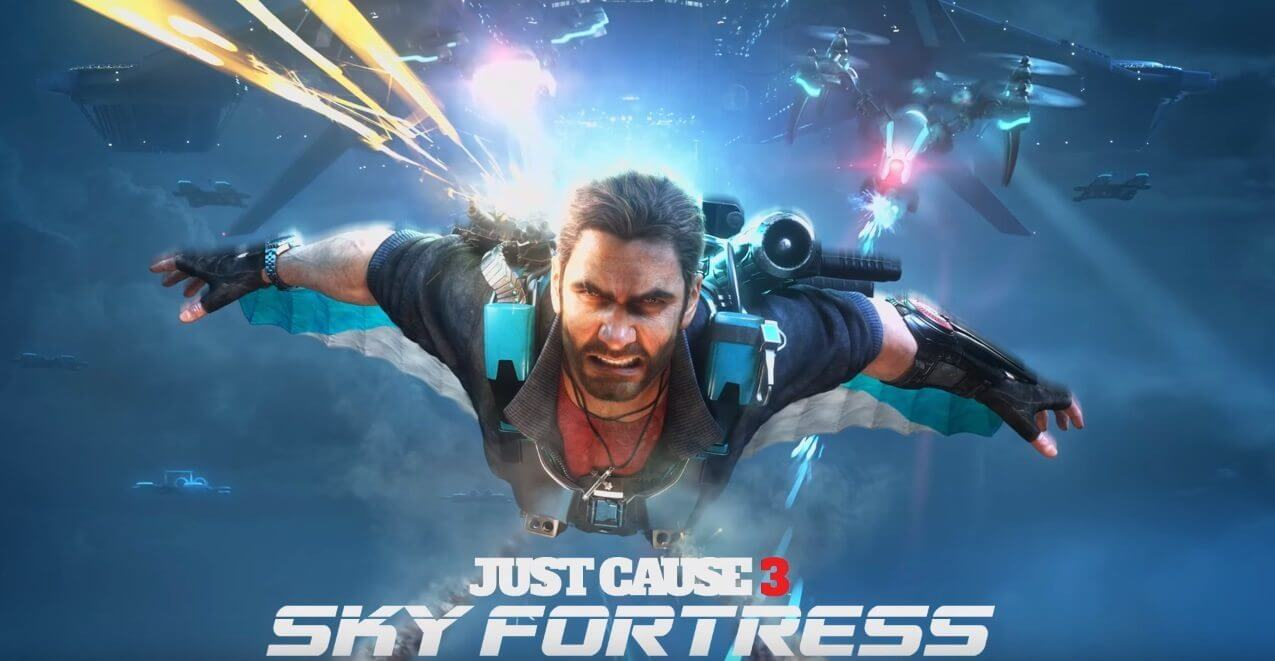 justcause 3 sky fortress