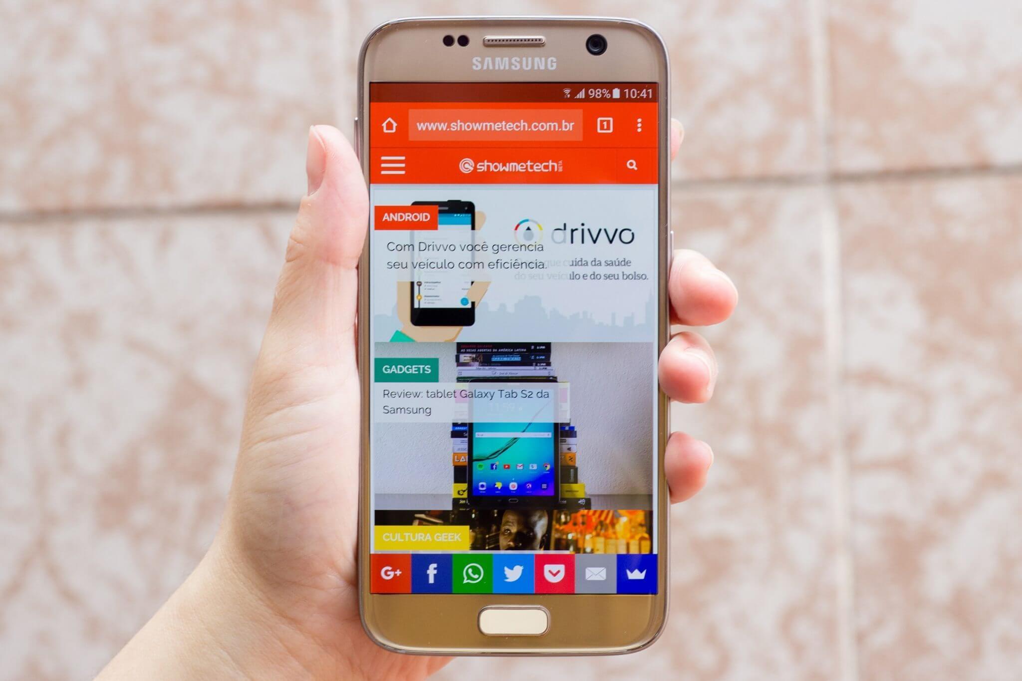 samsung galaxy s7 2 - Review: Galaxy S7 e S7 Edge, as obras primas da Samsung