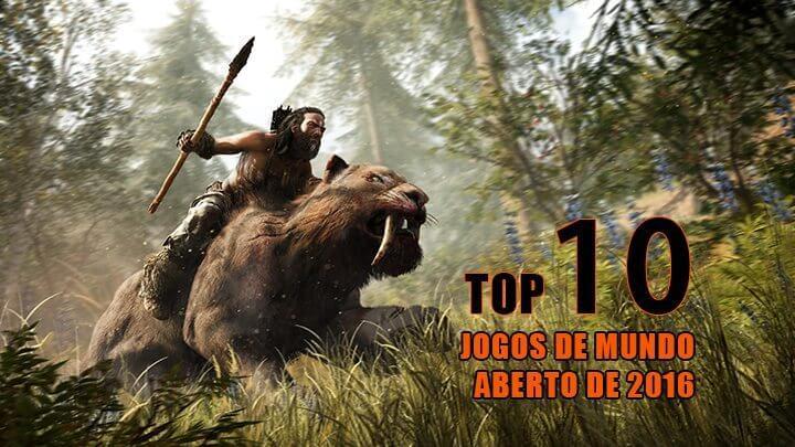"""Os 10 jogos de """"mundo aberto"""" mais esperados para 2016"""