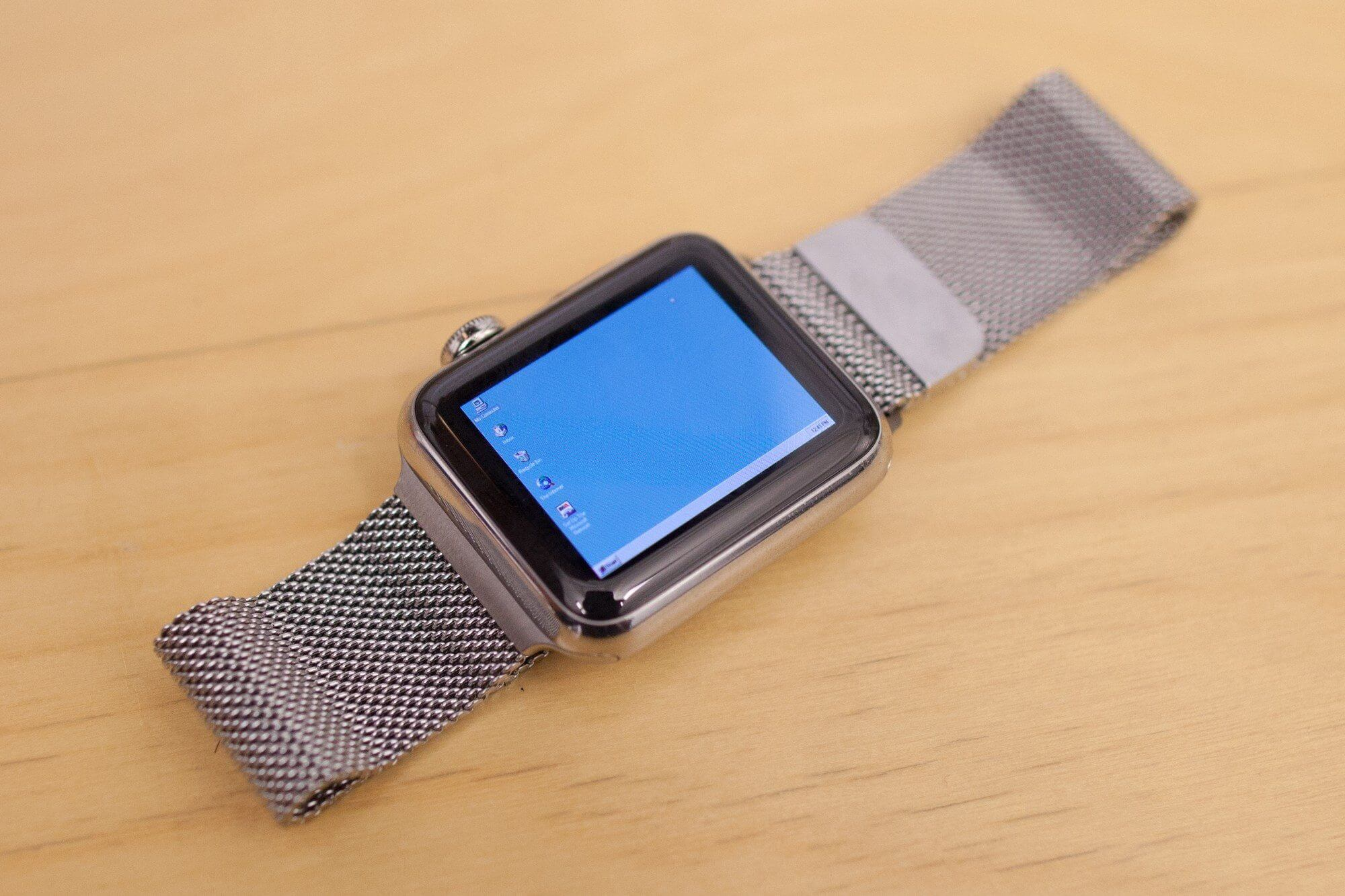 apple watch windows 95 - Veja o Windows 95 rodando em um Apple Watch