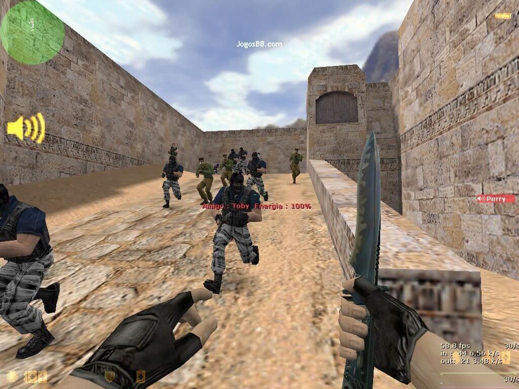 Counter strike 16 faquinha