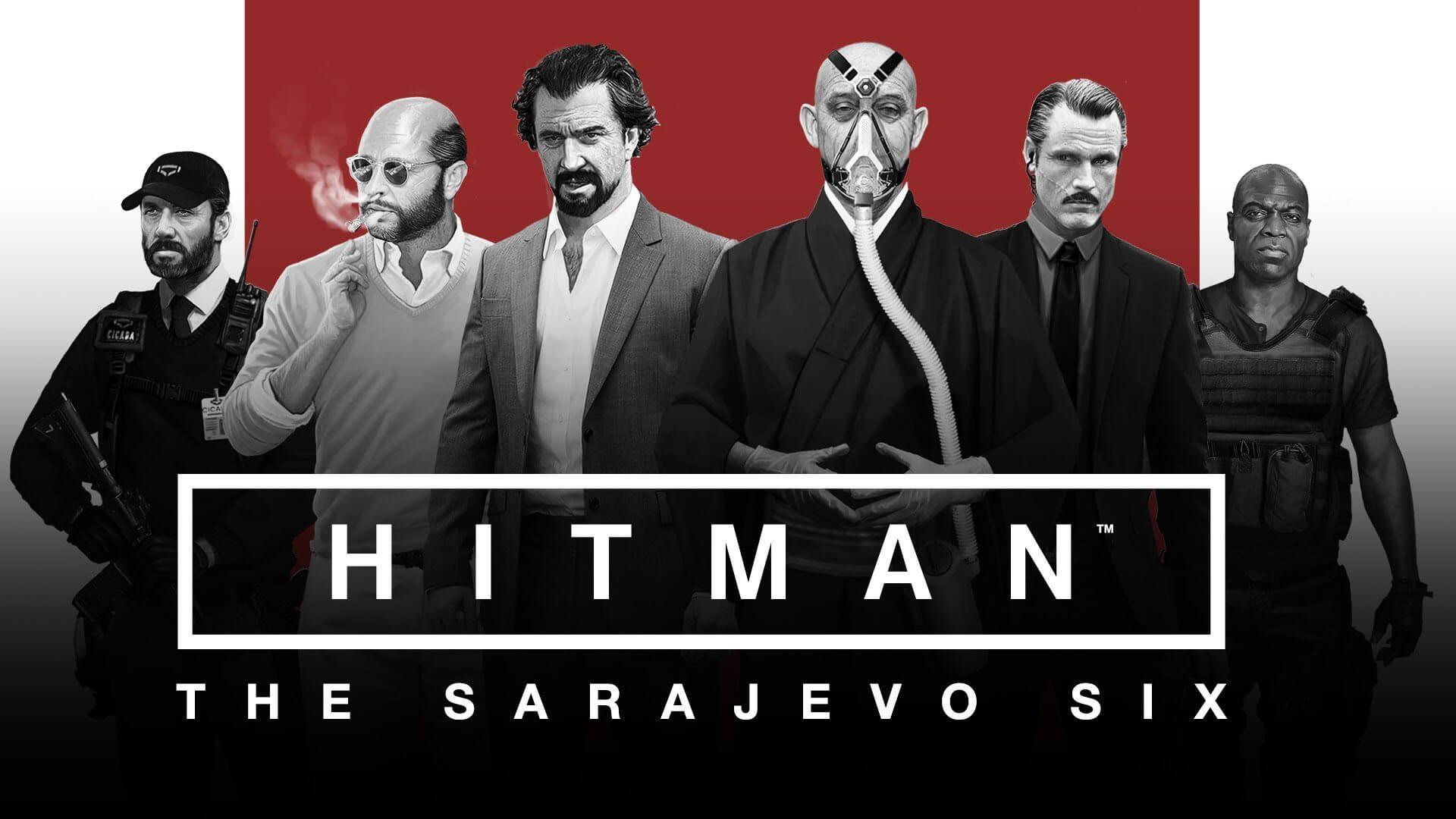 Hitman the saravejo six