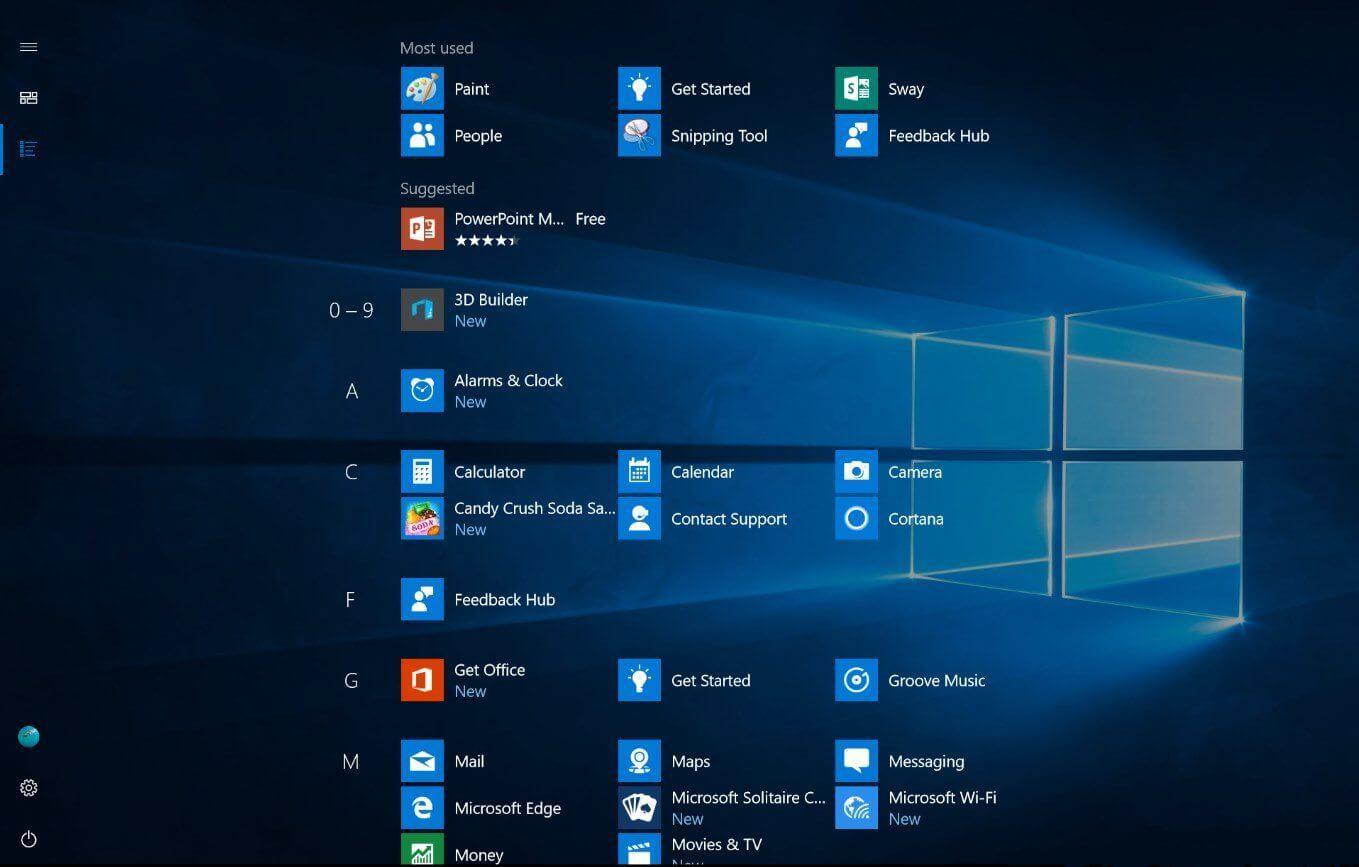 Microsoft pode mudar o design do Menu Iniciar (de novo)
