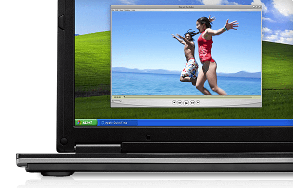 quicktime windowsxp