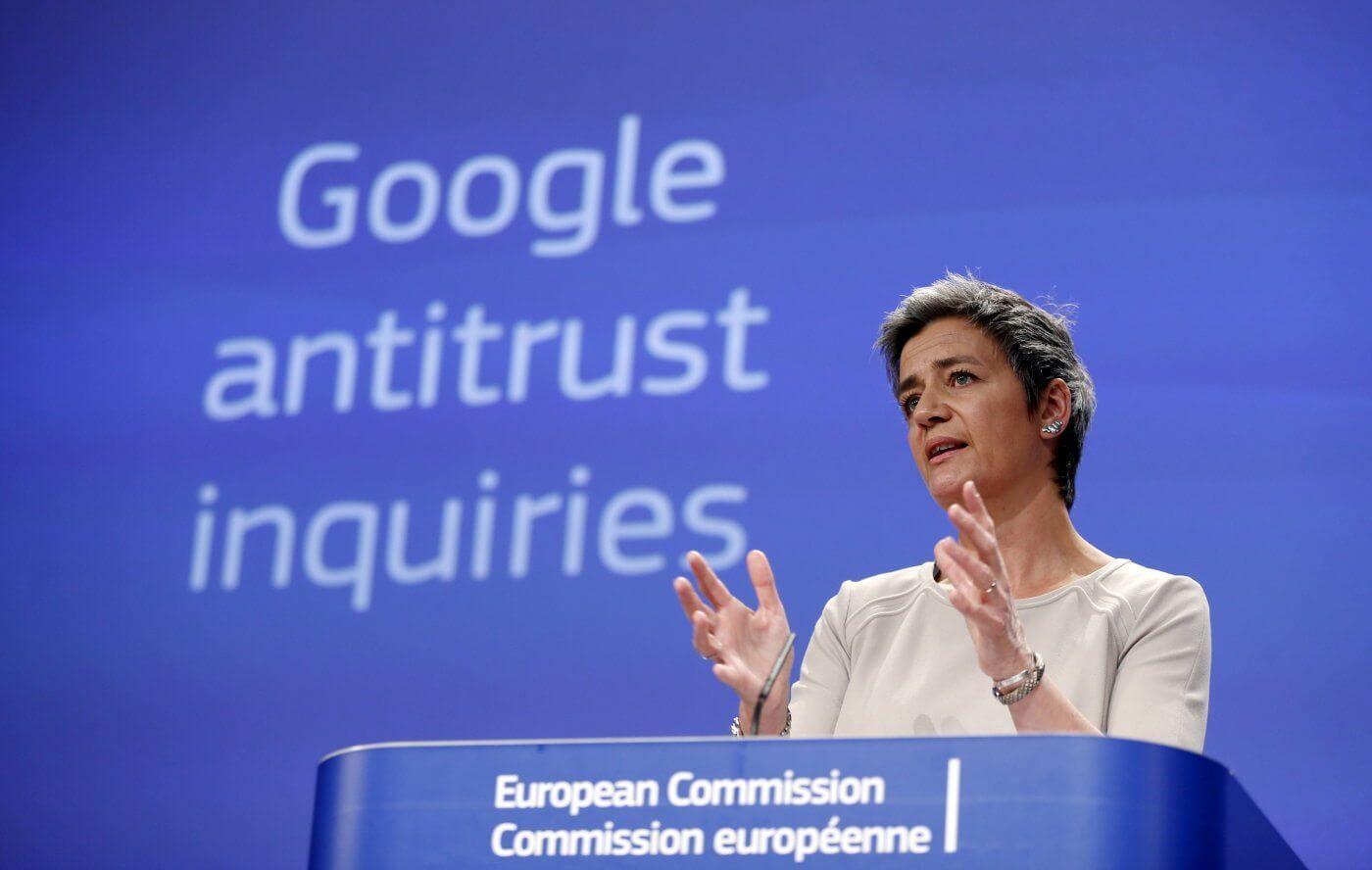 Europa formaliza denúncia antitruste contra o Google