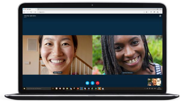 skype video calling on microsoft edge1