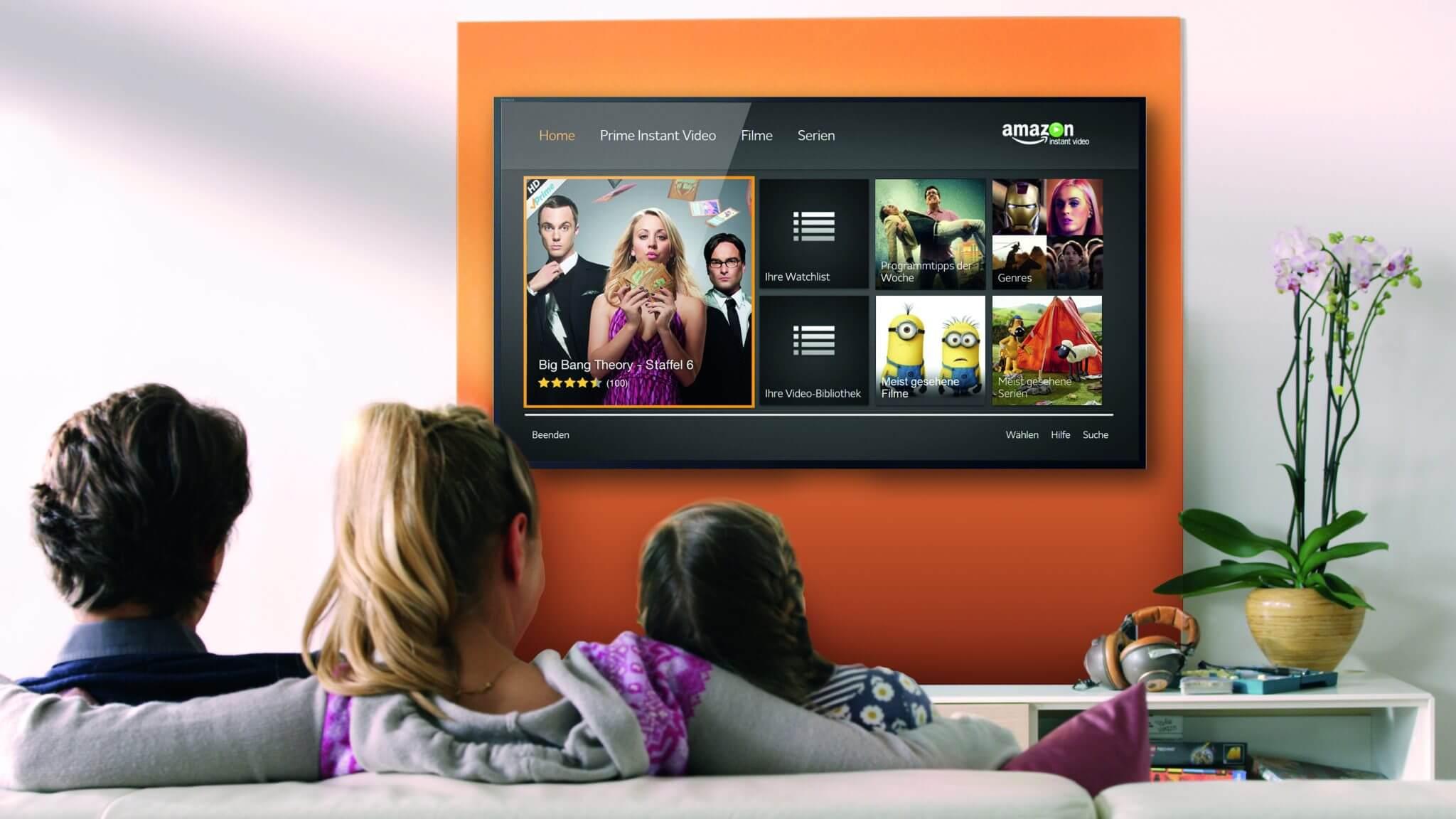 Amazon lança serviço de streaming mensal para rivalizar com a Netflix