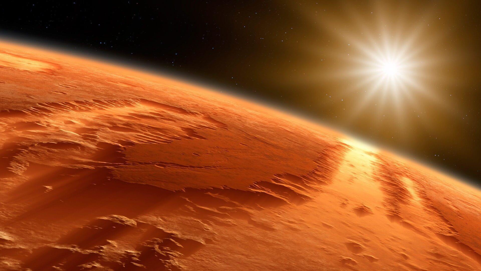 Marcas de tsunamis são a mais nova evidência da presença de oceanos em Marte
