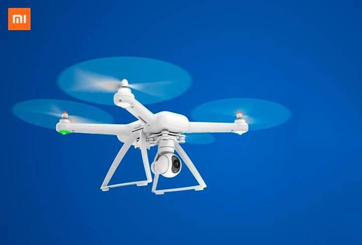 Xiaomi lança drone com câmera 4K e sistema de pouso automático