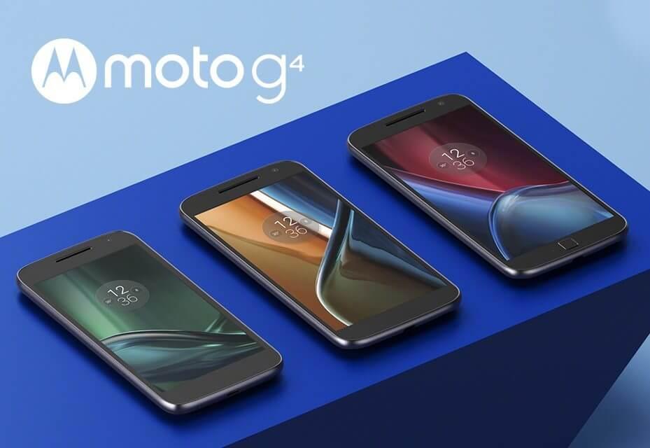 Lenovo anuncia Moto G de 4ª Geração em 3 modelos