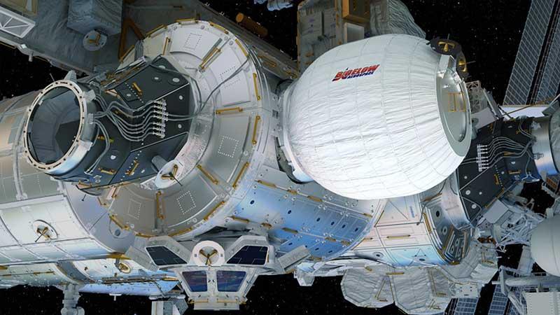 NASA divulga vídeo do módulo BEAM sendo inflado no espaço