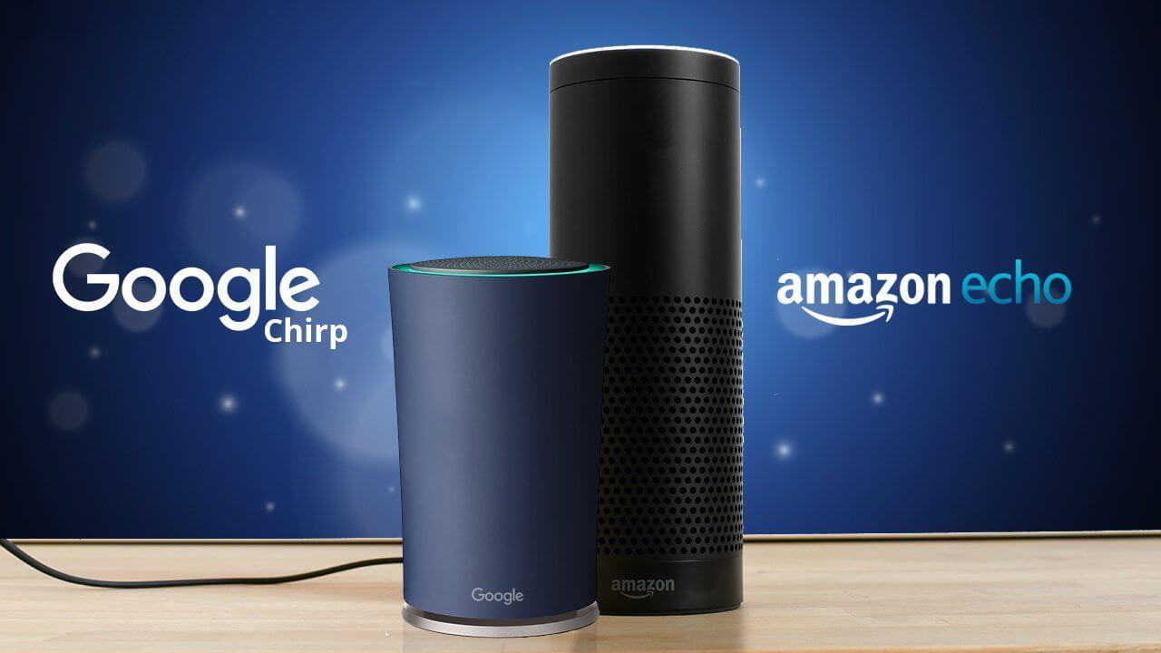 """Google prepara o """"Chirp"""" para rivalizar com o Amazon Echo"""