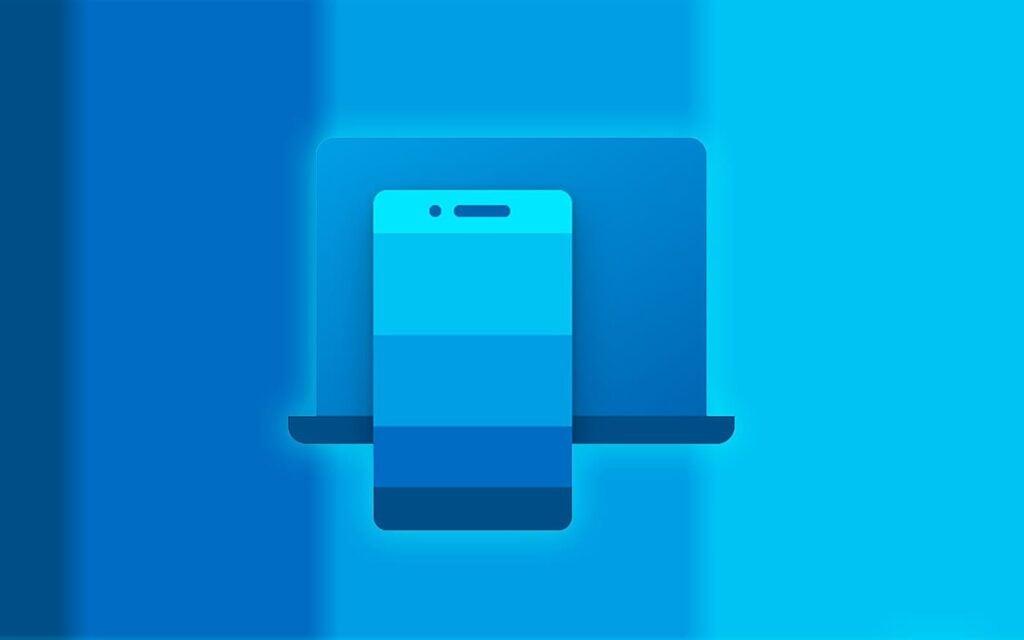 Ilustração do app seu telefone