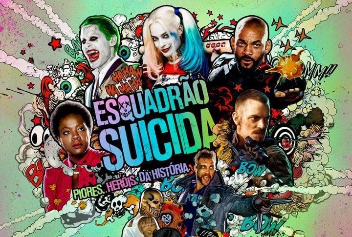 """Vilões de """"Esquadrão Suicida"""" ganham novas artes individuais"""