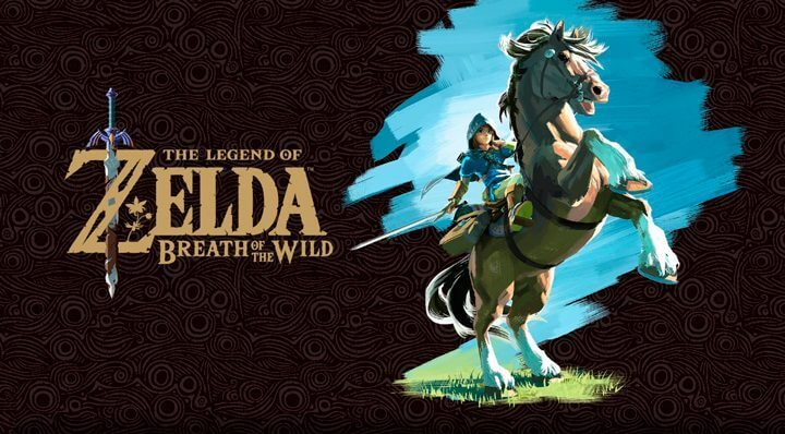 The Legend of Zelda Breath Of The Wild capa