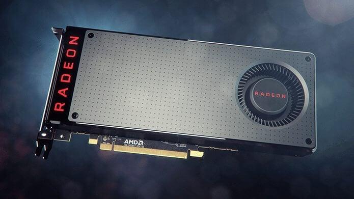Placa gráfica AMD Radeon RX 480