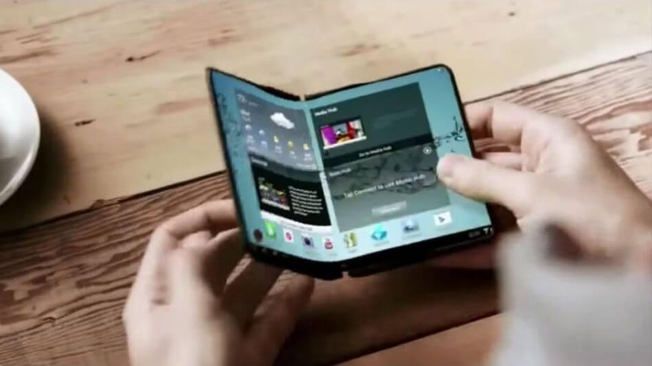 samsung smartphone dobravel