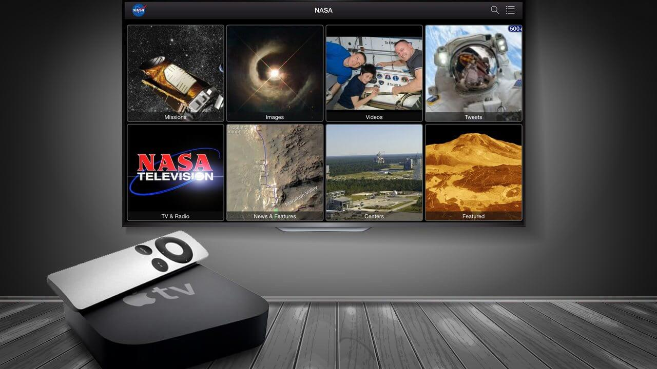 Smt apple tv nasa app capa