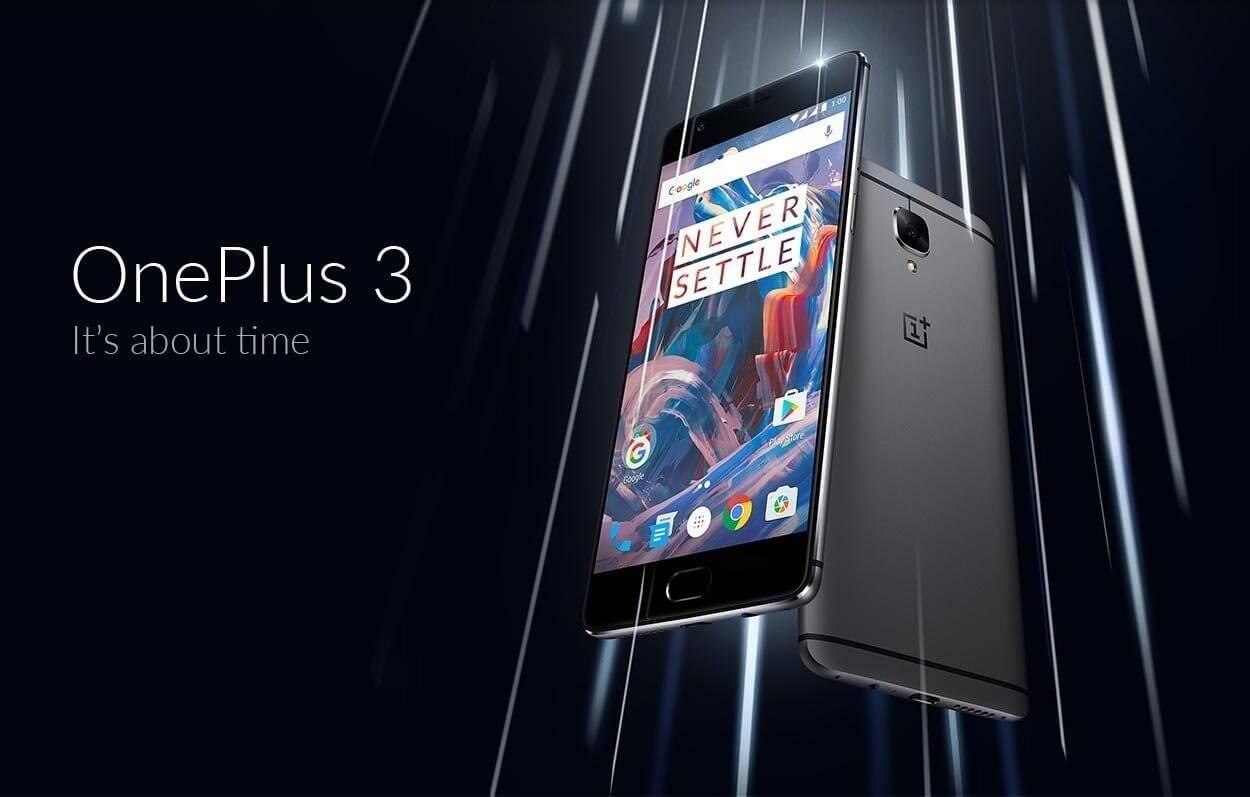 """OnePlus 3 é lançado e chega para ser o """"rei do custo-benefício"""""""