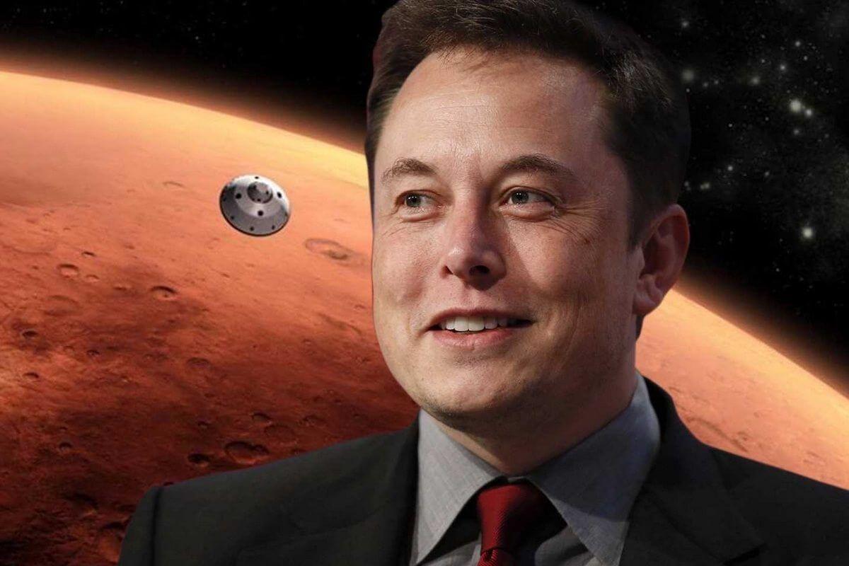 Elon Musk planeja missão tripulada para Marte em menos de dez anos