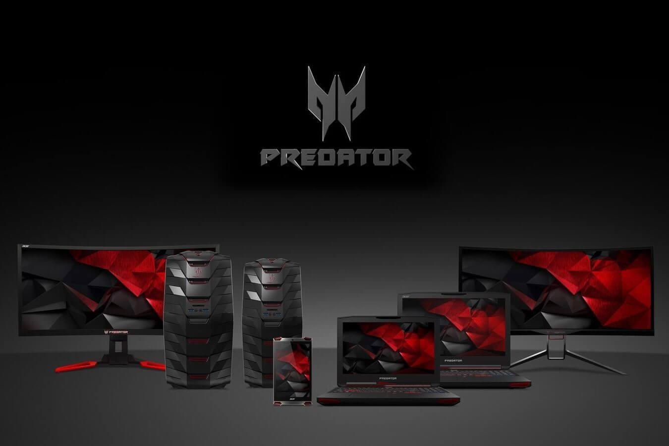 Acer apresenta nova linha de notebooks e monitores gamer