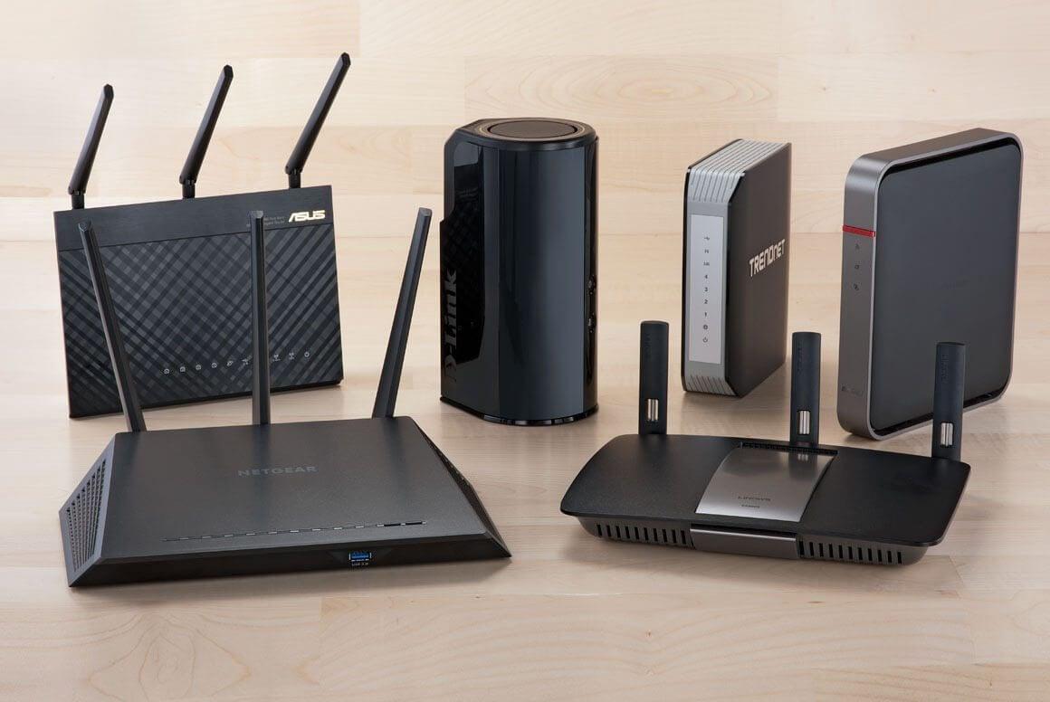 roteadores WiFi 11AC