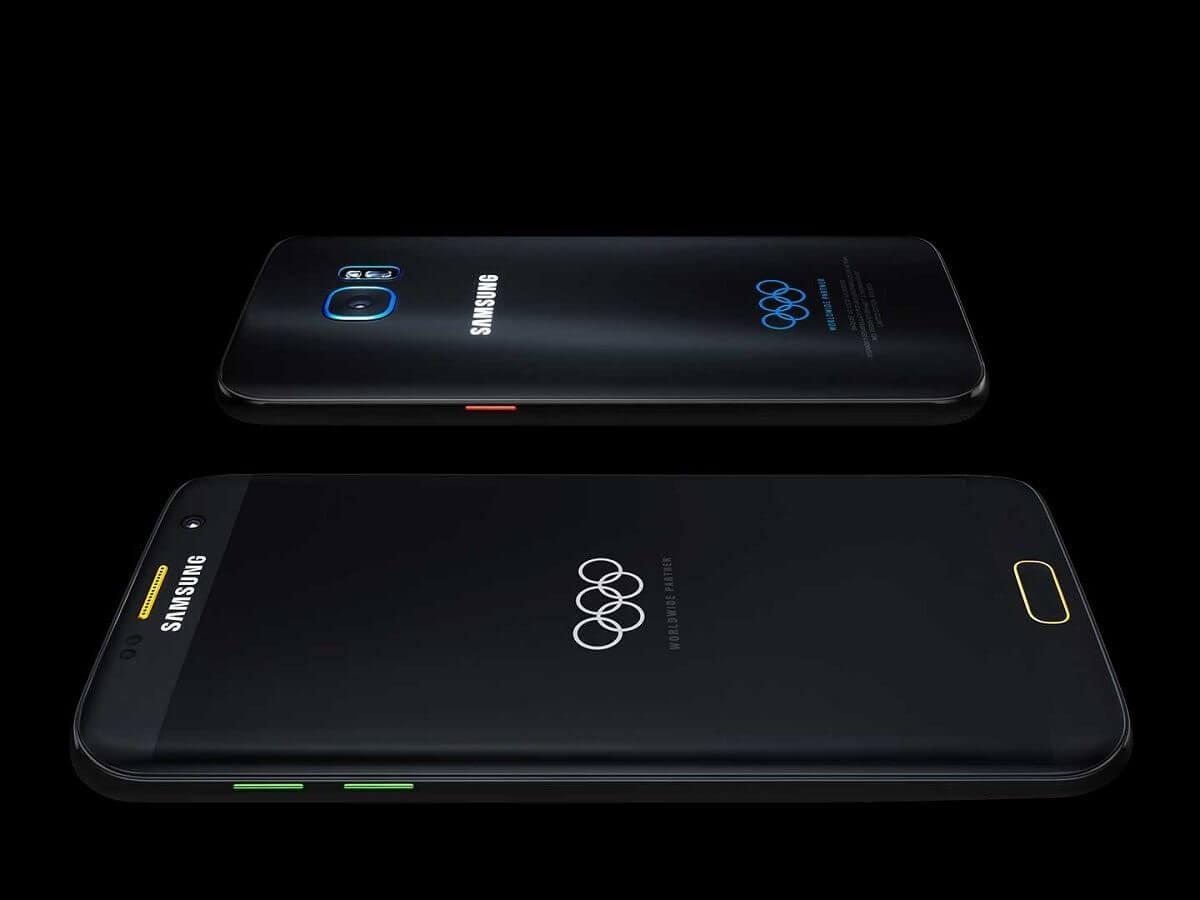 Samsung sorteia 777 unidades do Galaxy S7 edge Edição Limitada Jogos Olímpicos 3