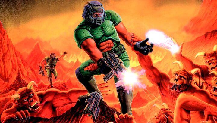 Doom 1 para PC, um clássico dos FPS