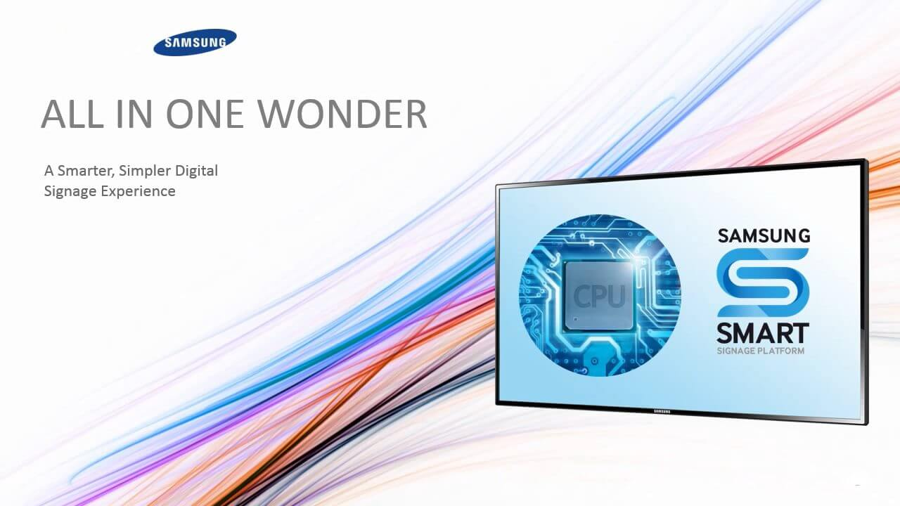 Samsung smart signage capa