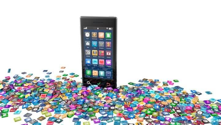 Apps smartphone bloatware shutterstock 114893179