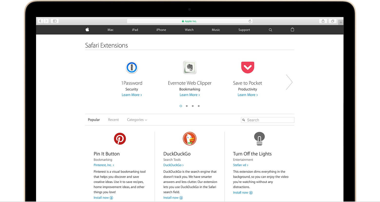 elcapitan safari extensions hero