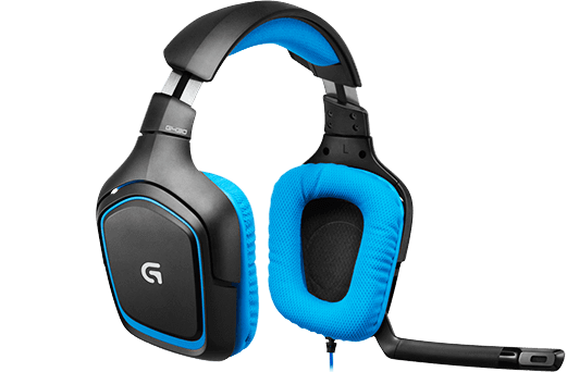 G430 gaming headset images 3
