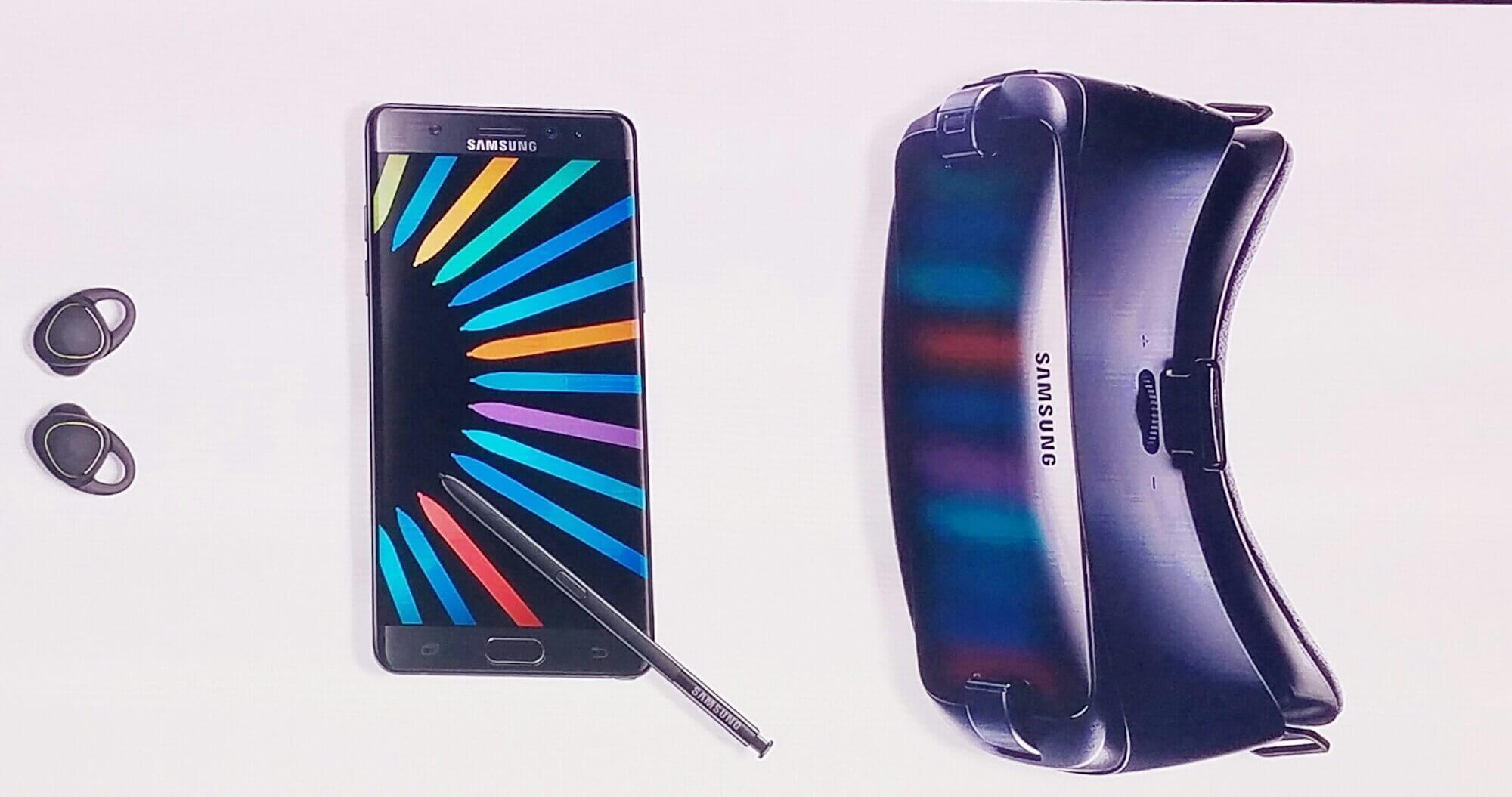 Ele chegou: Galaxy Note7 é lançado no Parque Olímpico do Rio