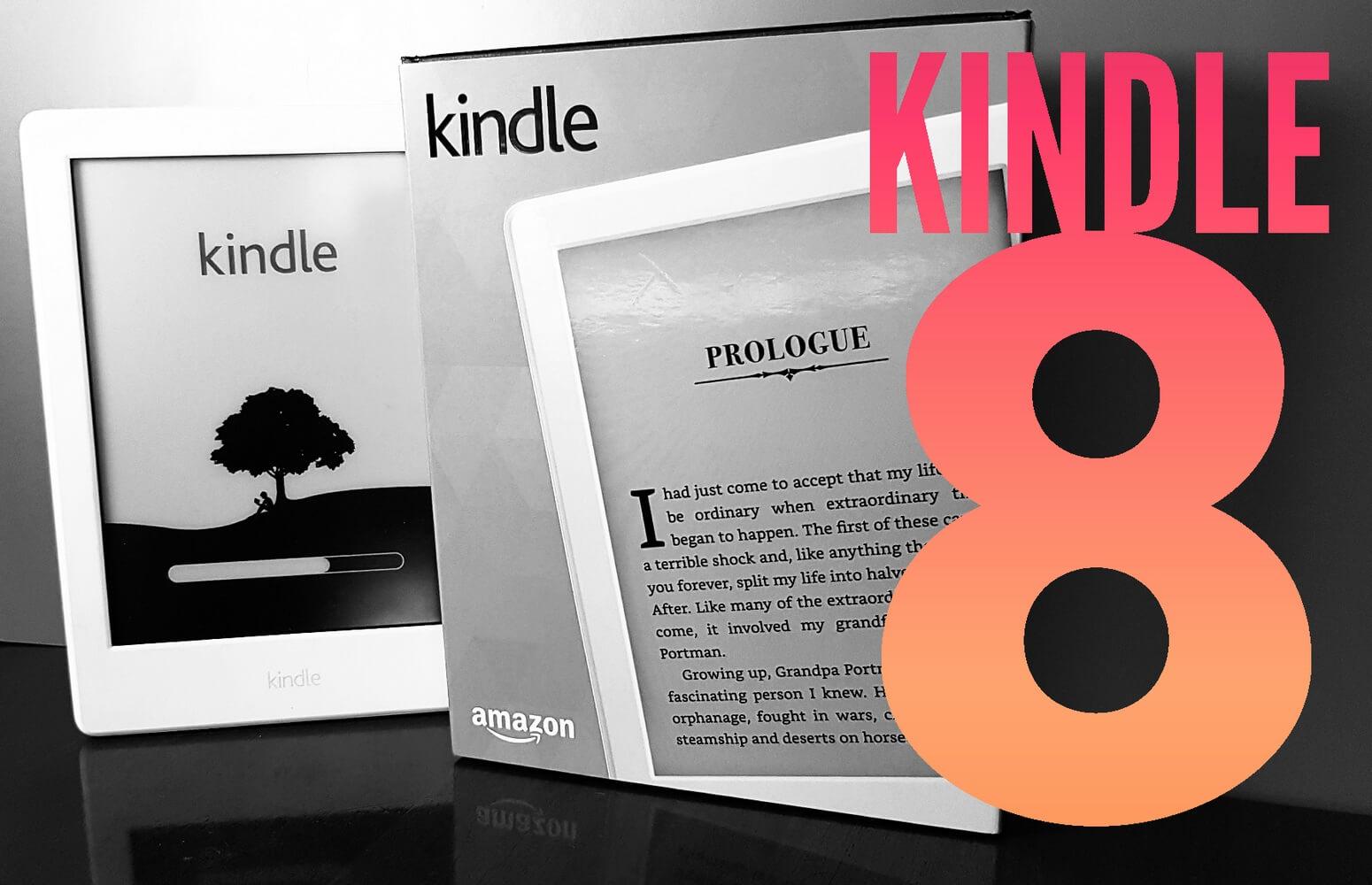 Kindle 8ª geração Capa - Análise do Kindle 8ª geração: Entrando com estilo no universo dos e-readers