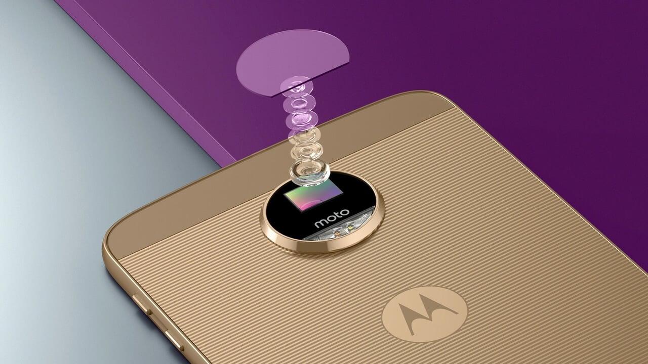 Motorola moto z camera