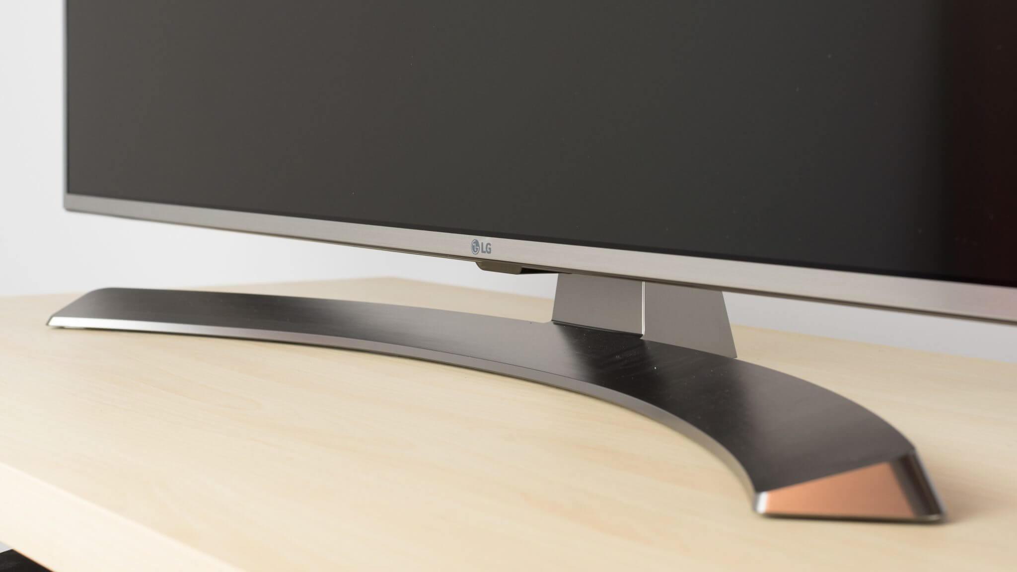 uh7700 stand large - Review: LG SUPER UHD TV 4K (55UH7700) com Pontos Quânticos e som Harman/Kardon