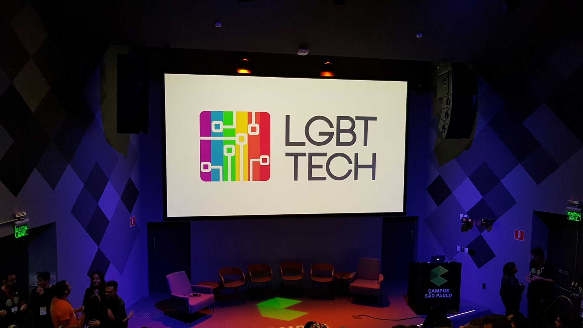 Google Campus recebe o LGBT TECH
