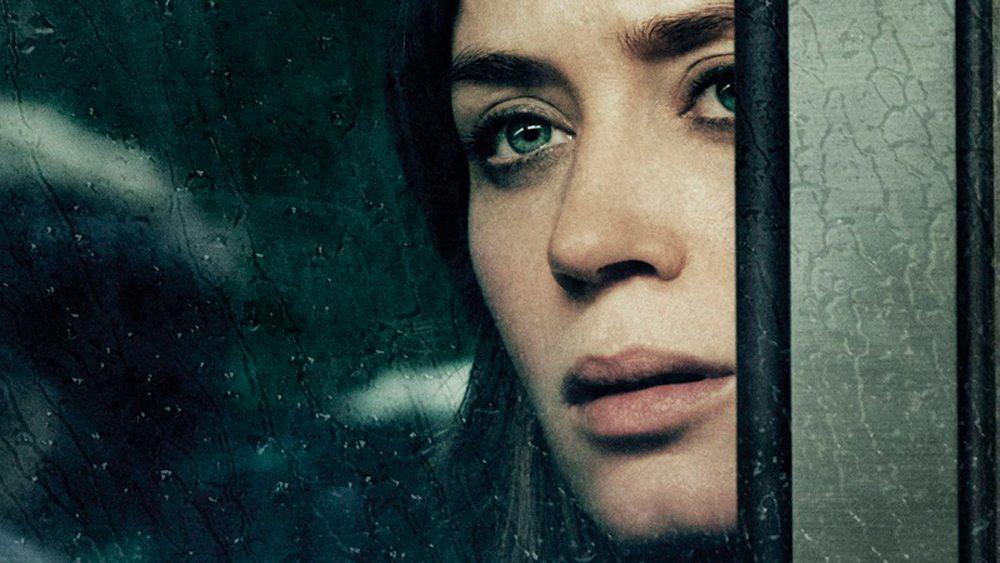 A garota no trem cartazes